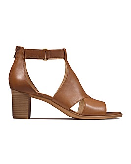 Clarks Kaylin60 Glad Wide Fitting Sandals