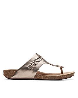 Clarks Unstructured Un Perri Vibe Standard Fitting Sandals