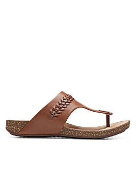 Clarks Unstructured Un Perri Vibe Standard Fitting Sandals