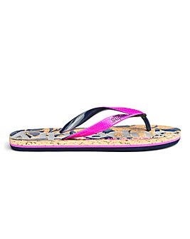 check out a629d ed538 Superdry Printed Cork Flip Flop