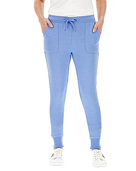 Denim Marl Cuffed Jogger