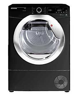 Hoover 9kg Condenser Tumble Dryer, Black