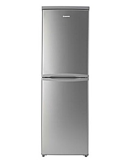 Hoover 125L Static Fridge Freezer Silver