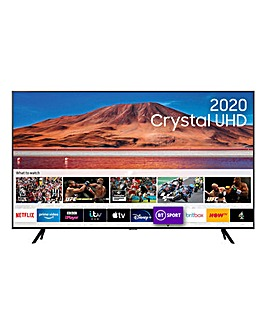 "Samsung UE75TU7100KXXU 75"" 4K Ultra HD HDR Smart TV"