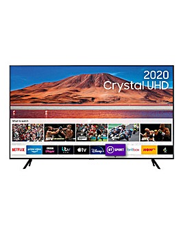 "Samsung UE55TU7100KXXU 55"" 4K Ultra HD HDR Smart TV"