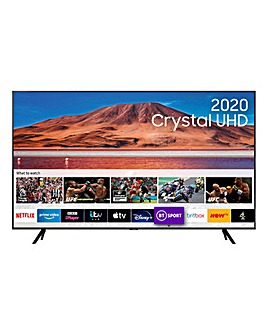 "Samsung UE43TU7100KXXU 43"" 4K Ultra HD HDR Smart TV"