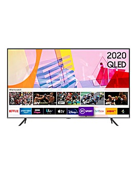 "Samsung QE55Q65TAUXXU 55"" 4K Ultra HD QLED Smart TV"