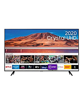 "Samsung 75"" Ultra HD Crystal View"