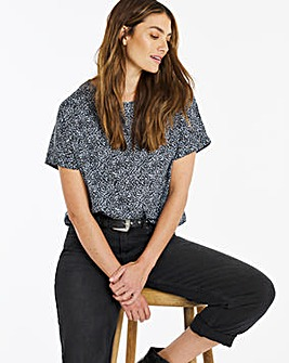 Longer Length Boxy Top
