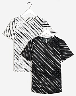 2 Pack Woven Boxy Tops