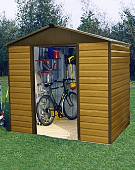 Yardmaster 10x12ft Woodgrain-effect Shed