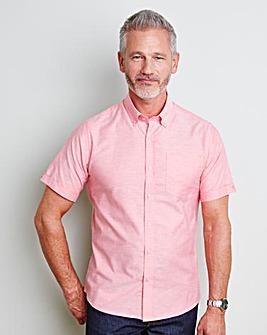 Capsule S/S Pink Oxford Shirt Regular