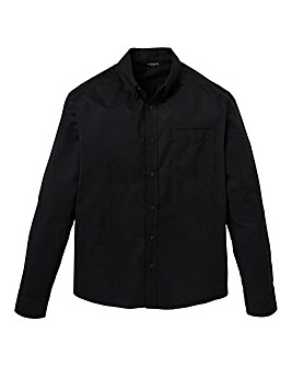 Capsule Black L/S Oxford Shirt L
