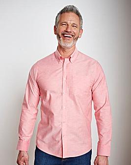 Capsule L/S Pink Oxford Shirt Long