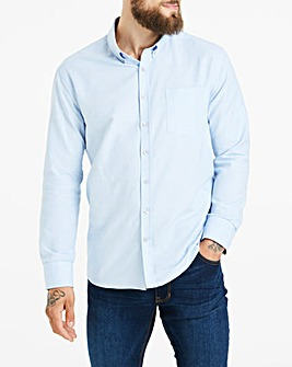 Blue Long Sleeve Oxford Shirt Regular