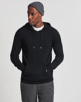 Black Cashmere Hoody