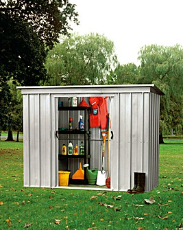 Yardmaster 6x4ft Pent Metal Shed