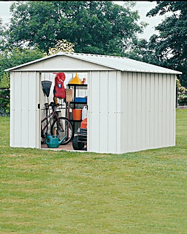 Yardmaster 8x10ft Apex Metal Shed