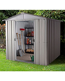 Yardmaster 6x5ft Apex Metal Shed
