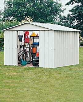 Yardmaster 6x7ft Apex Metal Shed