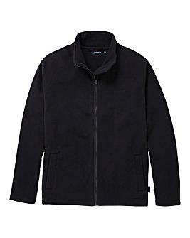 Southbay Unisex Black Zip Through Fleece