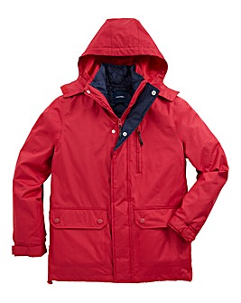 Southbay Unisex Red 3 in 1 Jacket