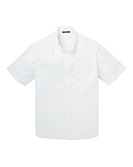 Capsule White S/S Oxford Shirt L