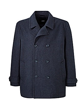 Charcoal Pea Wool Rich Coat