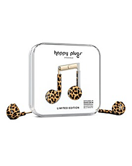 Happy Plugs Earbud Plus - Leopard