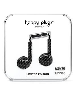 Happy Plugs Earbud Plus - Carbon Fiber