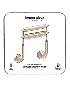 Happy Plugs Wireless II - Matte Gold