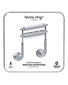 Happy Plugs Wireless II - Space Grey