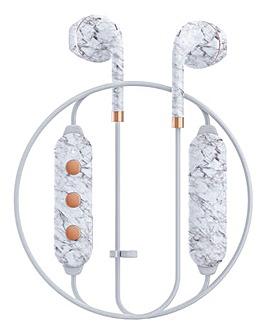 Happy Plugs Wireless II - White Marble
