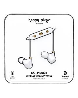 Happy Plugs Ear Piece II - White Gold