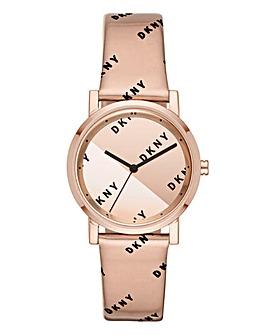 DKNY Logo Ladies Watch