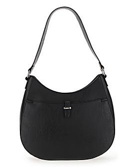 Side Ring Detail Hobo Bag
