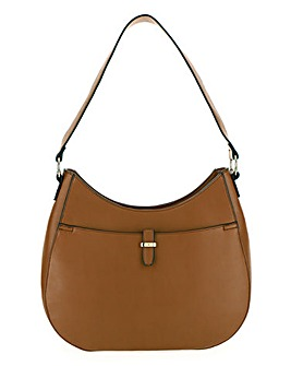 Side Ring Detail Hobo Bag