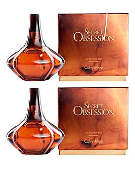 Calvin Klein Secret Obsession 50ml BOGOF