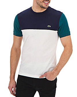 Lacoste Regular Fit Colour Block T-Shirt