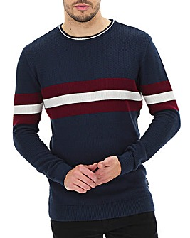 Peter Werth Panel Stripe Jumper