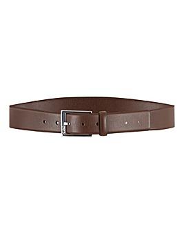 Boss Gellot Embossed Leather Belt