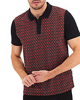 Peter Werth Geo Panel Polo Long