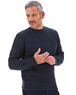 Joe Browns Square Texture Jumper