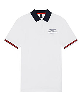 Hackett Big & Tall AMR Tape Polo