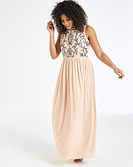 AX Paris Curve Embellished Maxi Dress