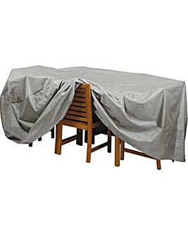 Deluxe Xl Patio Set Cover