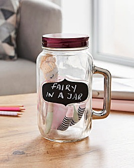Fairy Wishes in Mason Jar
