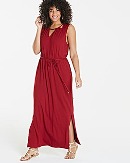 Oasis Curve Cut Out Trim Maxi Dress