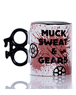 Muck Sweat and Gears Cyclist Mug