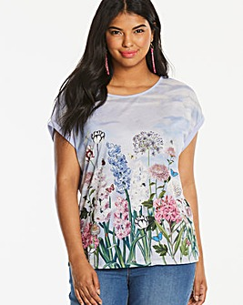 Oasis Curve Parkinson Placement Tee
